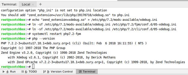 PHPStorm XDegug Install